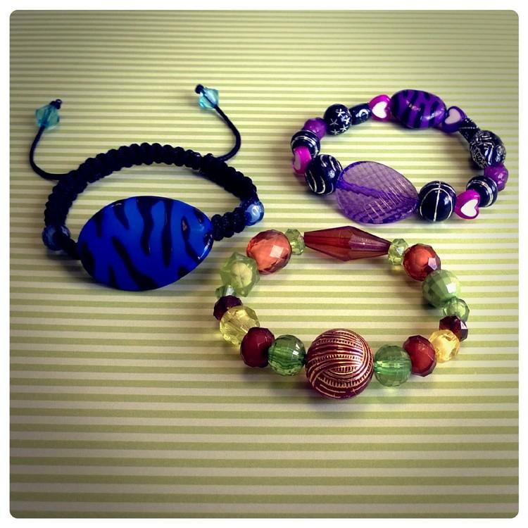 Bracelets Perles Fantaisie Bijoux 10 Doigts