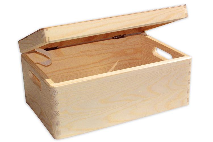 bo te de rangement en bois bo tes et coffrets 10 doigts. Black Bedroom Furniture Sets. Home Design Ideas
