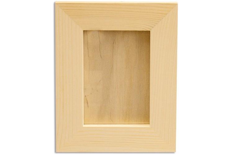 cadre photo avec pince linge cadre en bois naturel avec pince un cadre photo personnalis ralis. Black Bedroom Furniture Sets. Home Design Ideas