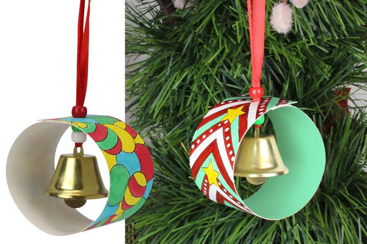 Plus adapté Boules de Noël à clochette - kit créatif - Décoration du sapin KO-62