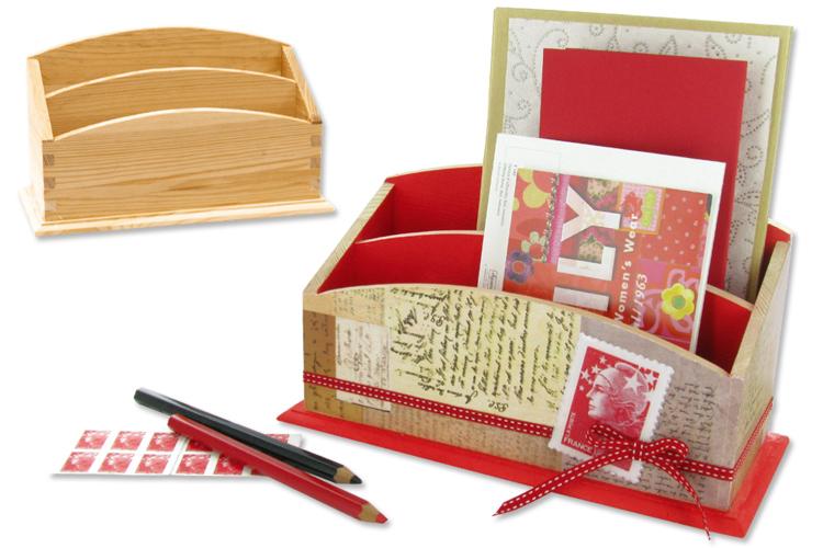 range courrier bords lisses en bois range courrier 10 doigts. Black Bedroom Furniture Sets. Home Design Ideas