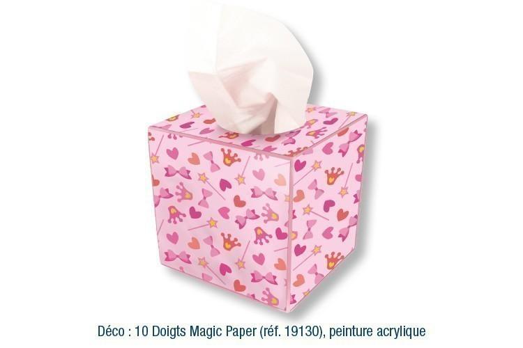 styles frais magasiner pour authentique modèle unique Boîte à mouchoirs cubique, en bois - Boîte à mouchoirs - 10 ...