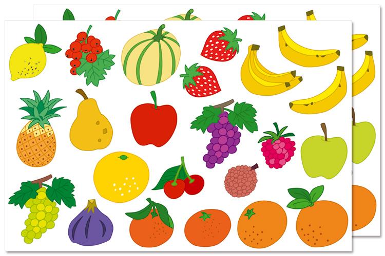 Coloriage Gommette Fruits Et Legumes.Gommettes Fruits Gommettes Fantaisie 10 Doigts