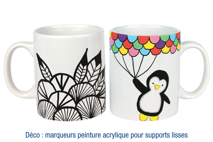 mug en porcelaine blanche mugs 10 doigts. Black Bedroom Furniture Sets. Home Design Ideas