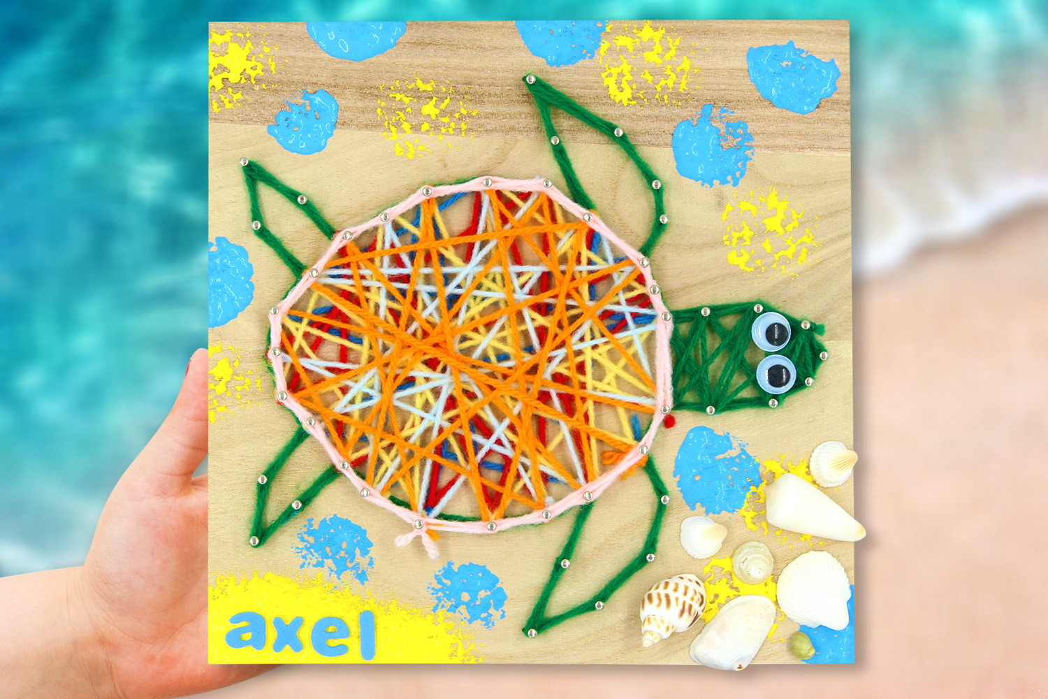 String Art : Tortue