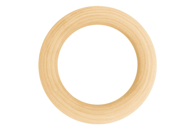 avant-garde de l'époque hot-vente plus récent achat spécial Anneau en bois naturel