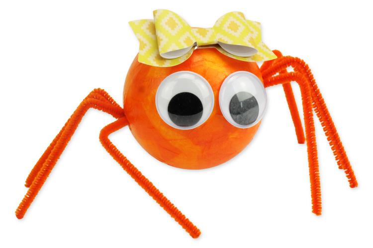 Araignées Mignonnes En Boules Polystyrène Halloween 10