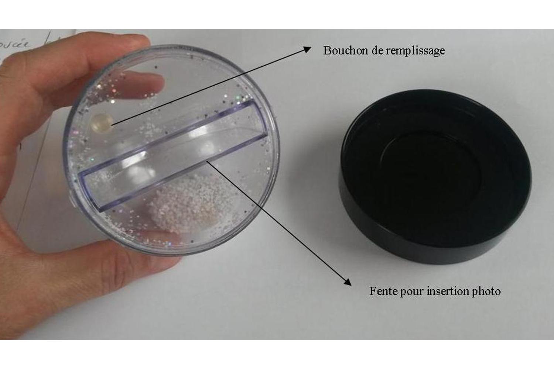 Boule Plastique A Decorer globe boule à neige à décorer