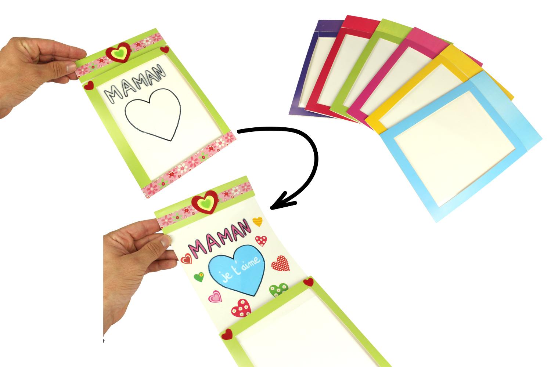 Cartes Message Magique Set De 6 Cartes Et Poèmes De