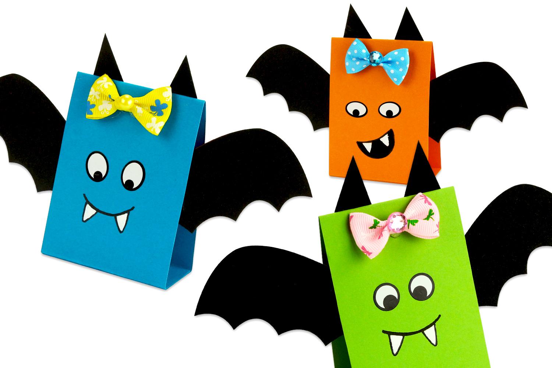 Chauve Souris En Papier Facile A Fabriquer Halloween 10 Doigts