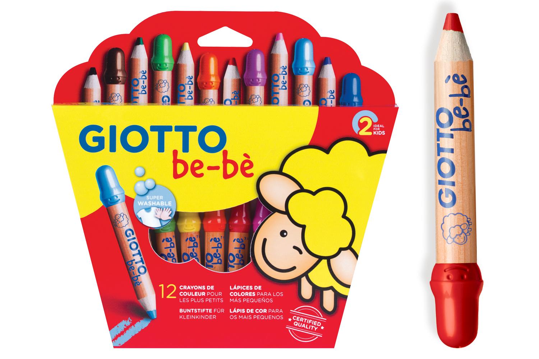 Crayons De Couleur Giotto A Partir De 2 Ans Crayons De Couleurs 10 Doigts