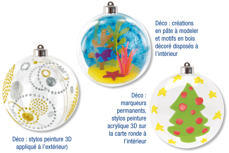 Decorer Boule De Noel En Plastique Diamètre de 6 cm Boules de Décoration Lot de 10 Anniversaire Omter