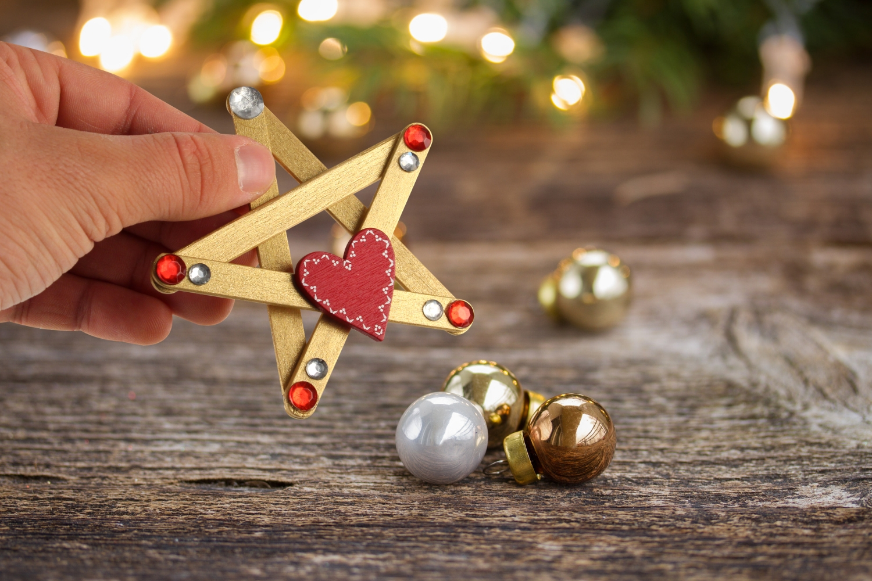 Etoiles De Noël Noël 10 Doigts