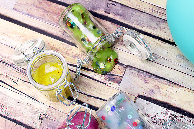 Collection de Slime coloré