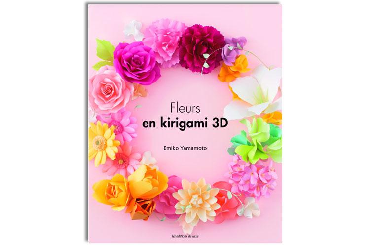 Livre Fleurs En Kirigami 3d