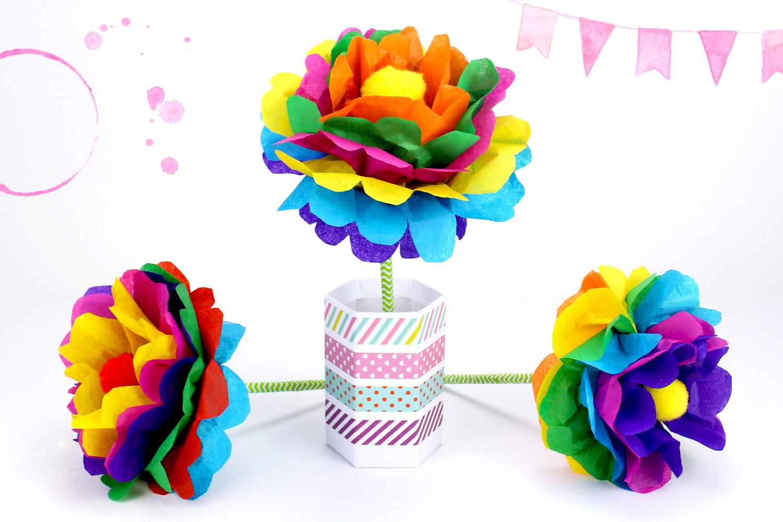 Faire Une Fleur En Papier Méthode Facile Activités