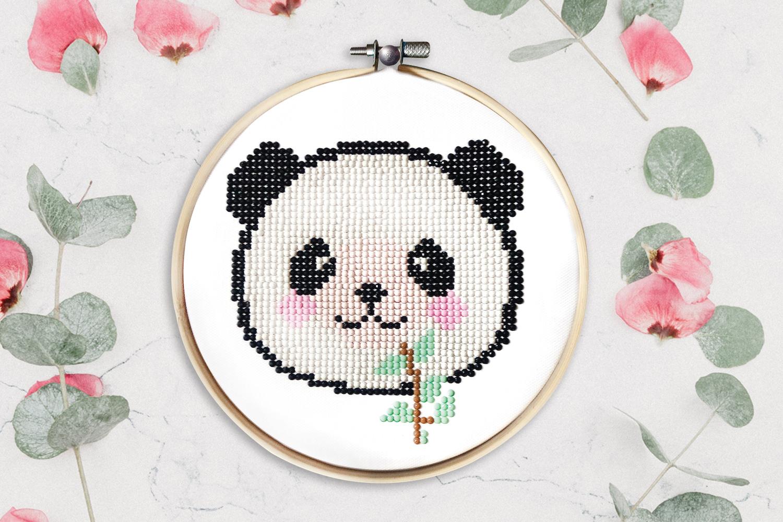 kit tableau peinture diamant panda peinture diamant. Black Bedroom Furniture Sets. Home Design Ideas