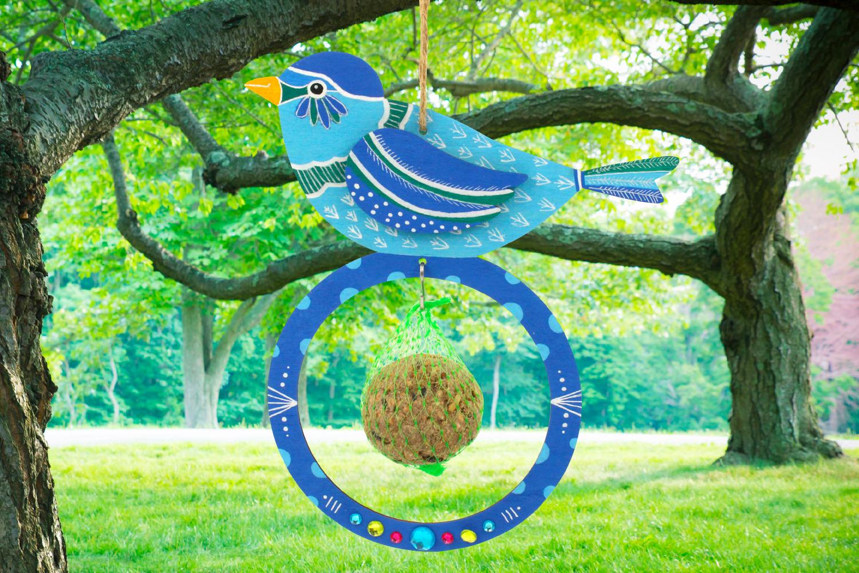 mangeoires pour oiseaux boules de graisse lot de 6. Black Bedroom Furniture Sets. Home Design Ideas