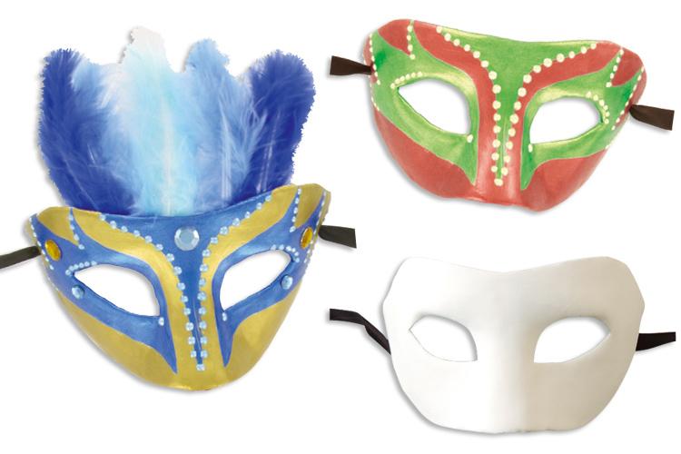 les mieux notés fabrication habile nouveau design Masque Vénitien en papier comprimé - Masques - 10 Doigts