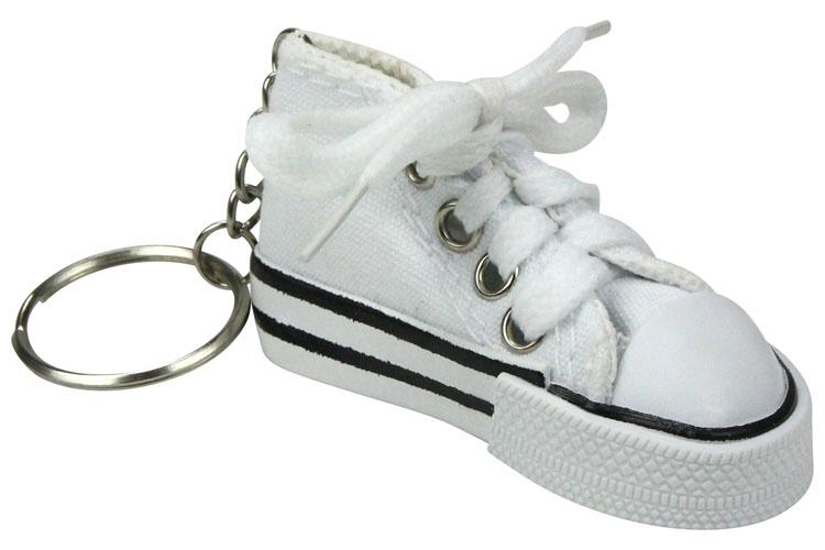 porte clef converse blanc