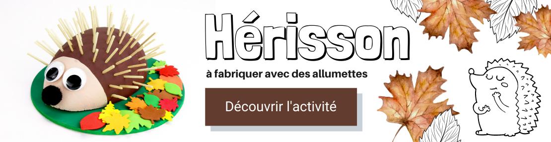 DIY hérisson allumettes