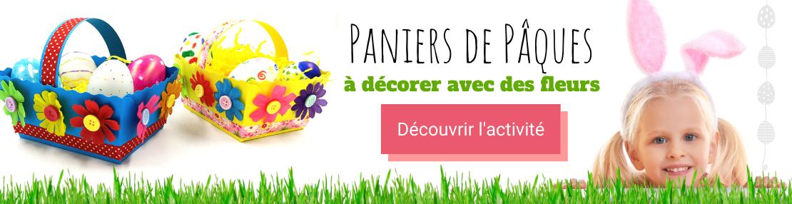 DIY paniers fleuris