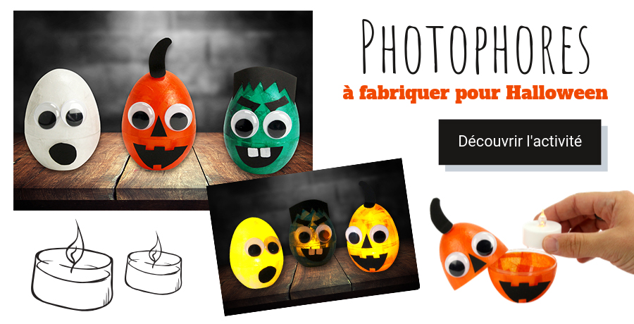 DIY photophores halloween