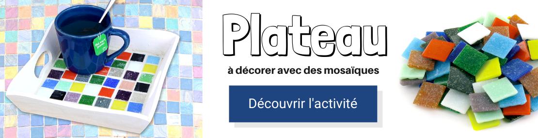 DIY plateau mosaiques