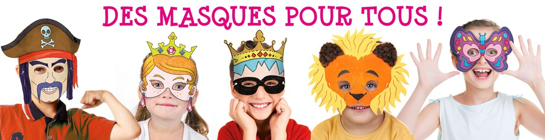 Masque Carnaval 10DOIGTS