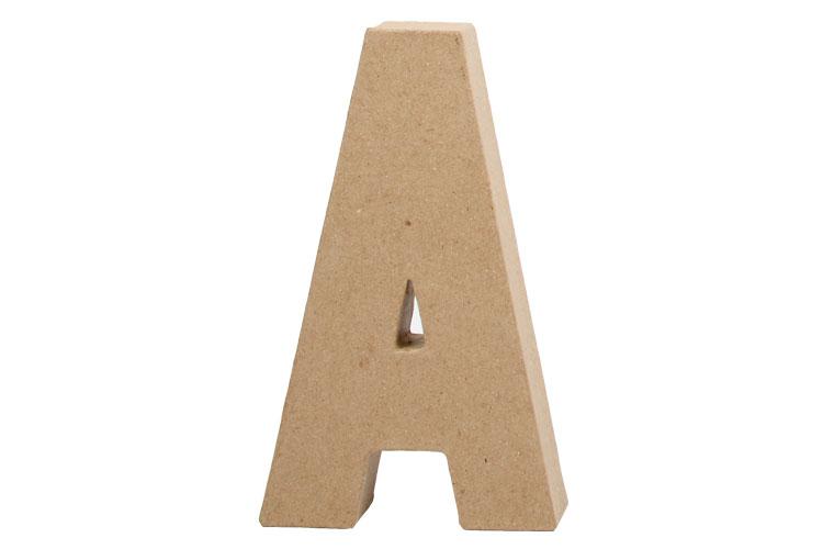 Lettres En Carton Papier Maché Lettres Et Formes 10 Doigts