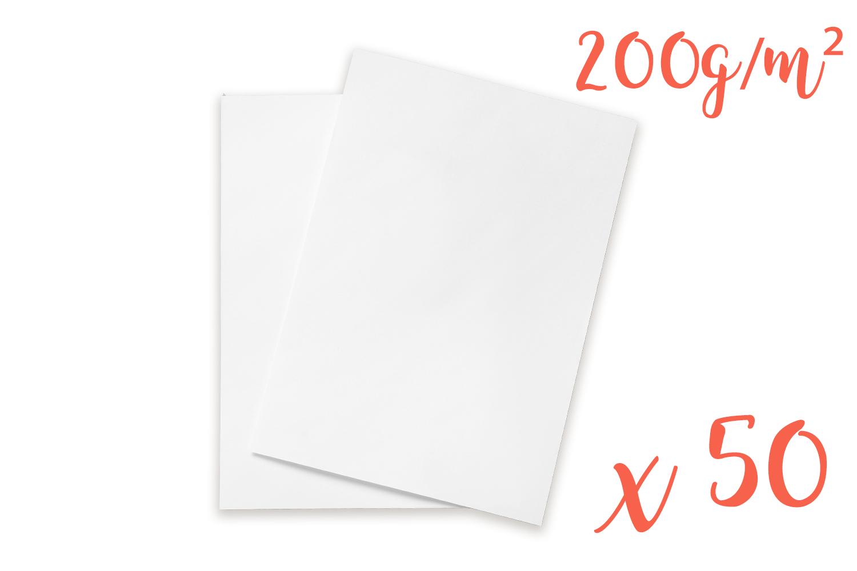 Papier A Peindre Epais papier dessin blanc - format a4 ( 21 x 29.7 cm )