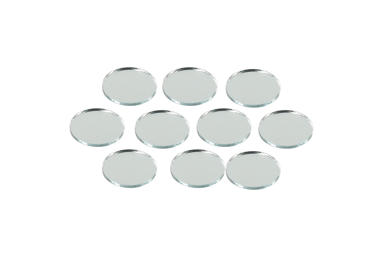 Miroirs Ronds Ø 2,5 Cm   Lot De 10   Miroirs 05694   10doigts