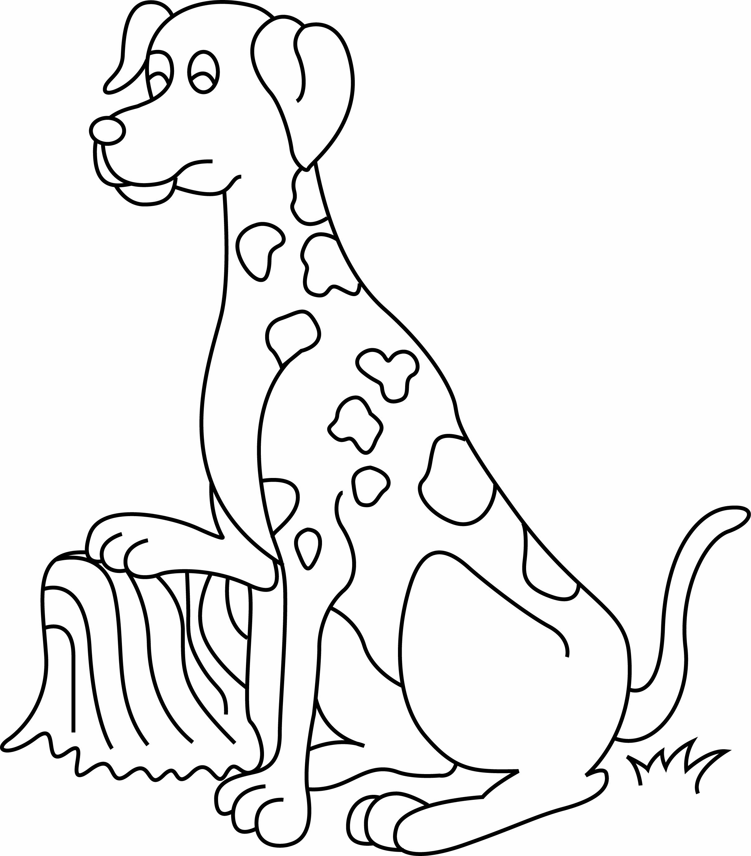 Coloriage   Animaux  Chien 40   40 Doigts