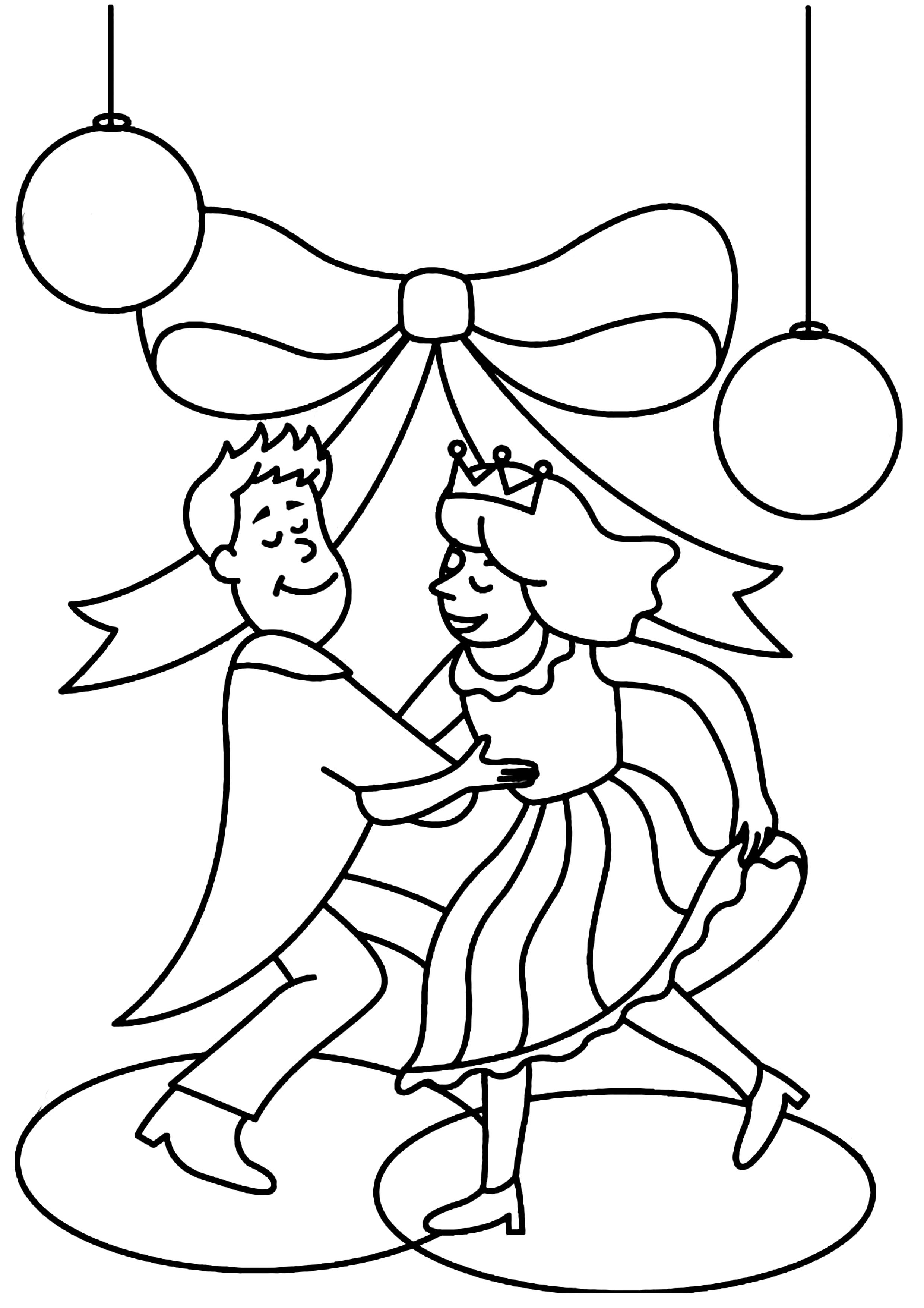 Coloriage - Divers : Mariage 01 - 10 Doigts
