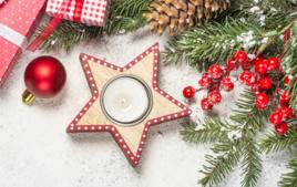 Je décore un bougeoir - Activités de Noël - 10doigts.fr
