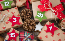 Je fais un calendrier de l'avent - Activités de Noël - 10doigts.fr