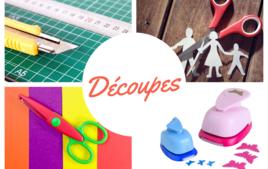 Coupes et découpes - Produits - 10doigts.fr