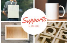 Supports à décorer - Produits - 10doigts.fr
