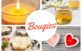 Bougies et bougeoirs - Produits - 10doigts.fr
