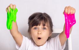 Slime Fluo - Activité SLIME dégoulinant - 10doigts.fr