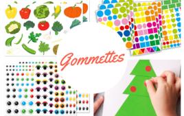 Gommettes, stickers - Produits - 10doigts.fr