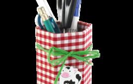 Pots à crayons - Idées Créa - 10doigts.fr