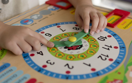 J'apprends à lire l'heure - Montessori - 10doigts.fr