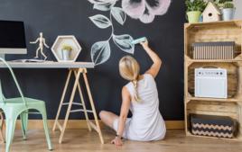 Je décore les murs - Activités de Home Déco - 10doigts.fr