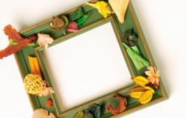 Je décore un cadre - Créations avec des photos - 10doigts.fr