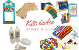 Kits Ecoles, centres de loisirs - Produits - 10doigts.fr