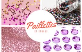 Paillettes et strass - Produits - 10doigts.fr