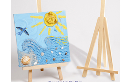 Chevalets et accessoires - Supports pour Peindre - 10doigts.fr