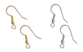 Boucles et pendentifs d'oreilles - Supports pour Bijoux - 10doigts.fr