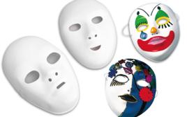 Masques - Objets à décorer - 10doigts.fr